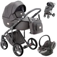 Wózek 3w1 ADAMEX LUCIANO DELUXE + fotelik BeSafe iZi GO MODULAR I-SIZE