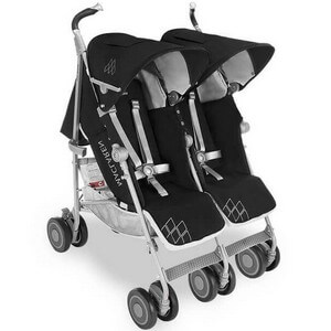 MACLAREN TWIN TECHNO podwójny wózek spacerowy