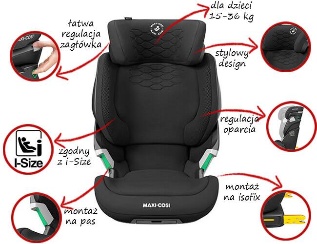 Fotelik samochodowy Maxi Cosi KORE PRO i-Size 1
