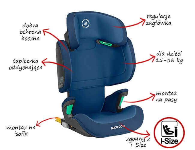 Fotelik samochodowy Maxi Cosi MORION 15-36 kg 1