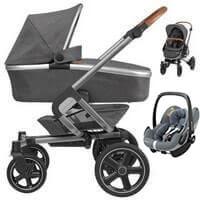 Wózek 3w1 MAXI COSI NOVA 4 + fotelik Maxi Cosi PEBBLE PRO