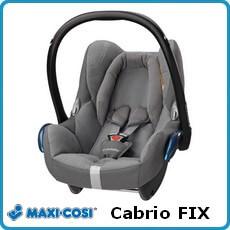 Maxi Cosi fotelik samochodowy Cabrio FIX dla dzieci 0-13kg
