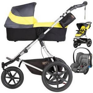 Wózek 3w1 MOUNTAIN BUGGY TERRAIN + fotelik Maxi Cosi CITI