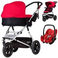 Wózek 3w1 MOUNTAIN BUGGY URBAN + fotelik Maxi Cosi PEBBLE PRO