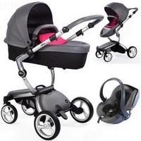 Wózek 3w1 MIMA XARI 3G + fotelik BeSafe iZi GO