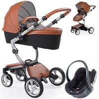 Wózek 3w1 MIMA XARI 3G CAMEL  + fotelik BeSafe iZi GO