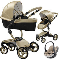 Wózek 3w1 Mima XARI 4G Champagne + fotelik BeSafe iZi GO MODULAR i-Size