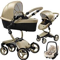 Wózek 3w1 Mima XARI 4G Champagne + fotelik Maxi Cosi PEBBLE PRO
