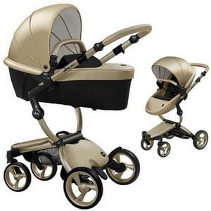 Wózek dziecięcy 2w1 Mima XARI 4G Champagne