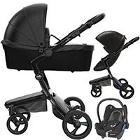 Wózek 3w1 MIMA XARI 4G BLACK + fotelik Maxi Cosi CABRIO FIX