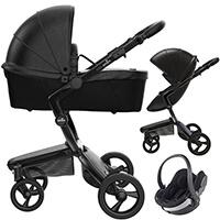 Wózek 3w1 MIMA XARI 4G BLACK + fotelik BeSafe iZi GO Modular I-Size