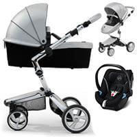 Wózek 3w1 MIMA XARI 3G ARGENTO + fotelik Cybex ATON 5