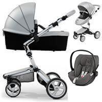Wózek 3w1 MIMA XARI 3G ARGENTO + fotelik Cybex CLOUD Z I-SIZE