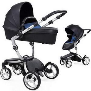 Wózek dziecięcy 2w1 MIMA XARI 3G BLACK