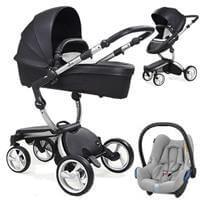 Wózek 3w1 MIMA XARI 3G BLACK  + fotelik Maxi Cosi CABRIO FIX