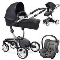 Wózek 3w1 MIMA XARI 3G BLACK  + fotelik Maxi Cosi CITI