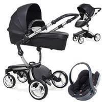Wózek 3w1 MIMA XARI 3G BLACK  + fotelik BeSafe iZi GO