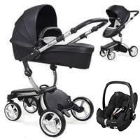 Wózek 3w1 MIMA XARI 3G BLACK + fotelik Maxi Cosi PEBBLE  PRO