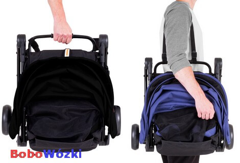MOUNTAIN BUGGY NANO wózek spacerowy + TORBA TRANSPORTOWA 3