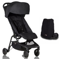 Wózek spacerowy MOUNTAIN BUGGY NANO + torba transportowa