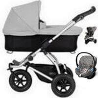 Wózek 3w1 MOUNTAIN BUGGY SWIFT + fotelik Cybex ATON M