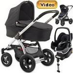 MURA 4 (zestaw 4w1) w�zek spacerowy + gondola + fotelik Maxi Cosi PEBBLE + baza do auta EASY BASE 2