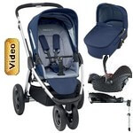 MURA 3 PLUS (zestaw 4w1) <font color=blue><b>2014</b></font> w�zek spacerowy + gondola + fotelik Maxi Cosi Cabrio FIX + baza do auta EASY BASE 2
