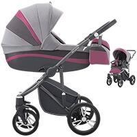 Wózek dziecięcy 2w1 BEBETTO MURANO + torba