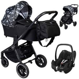 Wózek 3w1 Muuvo QUICK Trendy Edition + fotelik Maxi Cosi PEBBLE PRO