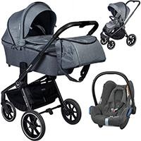 Wózek 3w1 MUUVO QUICK 2.0 + fotelik Maxi Cosi CABRIO FIX