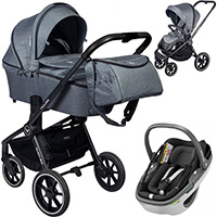 Wózek 3w1 MUUVO QUICK 2.0 + fotelik Maxi Cosi CORAL