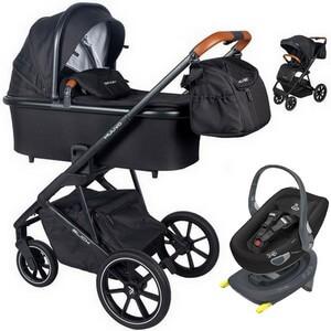 Wózek dziecięcy 3w1 Muuvo SLICK + fotelik samochodowy Swandoo ALBERT
