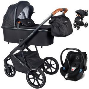 Wózek dziecięcy 3w1 Muuvo SLICK + fotelik samochodowy Cybex ATON 5
