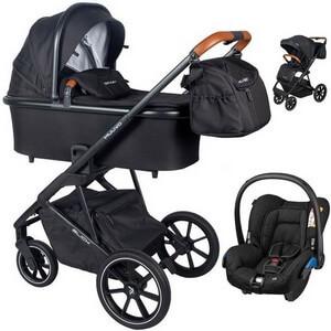 Wózek dziecięcy 3w1 Muuvo SLICK + fotelik samochodowy Maxi Cosi CITI