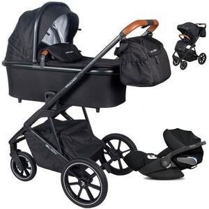 Wózek dziecięcy 3w1 Muuvo SLICK + fotelik samochodowy Cybex CLOUD Z i-Size