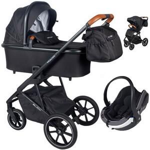 Wózek dziecięcy 3w1 Muuvo SLICK + fotelik samochodowy BeSafe iZi GO MODULAR i-Size