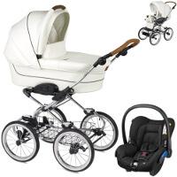 Wózek dziecięcy 3w1 NAVINGTON Caravel Royal + fotelik Maxi Cosi CITI