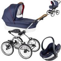 Wózek dziecięcy 3w1 NAVINGTON Caravel + fotelik BeSafe iZi GO MODULAR I-SIZE