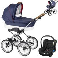 Wózek dziecięcy 3w1 NAVINGTON Caravel + fotelik Maxi Cosi CITI