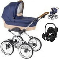 Wózek dziecięcy 3w1 NAVINGTON Caravel + fotelik Maxi Cosi PEBBLE PRO