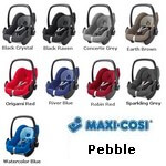 Maxi Cosi Pebble kolory 2009