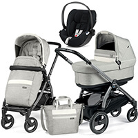 Wózek 3w1 Peg Perego BOOK 51 S POP UP + fotelik Cybex CLOUD Z i-Size