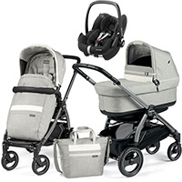 Wózek 3w1 Peg Perego BOOK 51 S POP UP + fotelik Maxi Cosi PEBBLE PRO