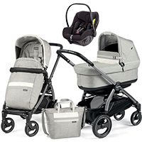 Wózek 3w1 Peg Perego BOOK 51 S POP UP + fotelik Avionaut PIXEL