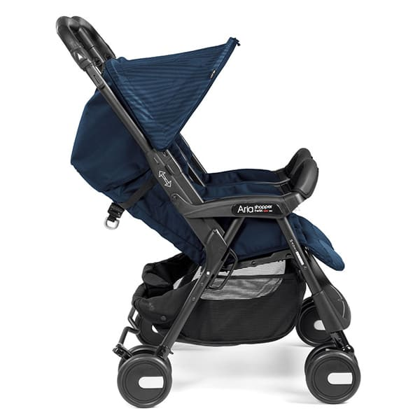 Bliźniaczy wózek spacerowy PEG PEREGO ARIA SHOPPER TWIN 2
