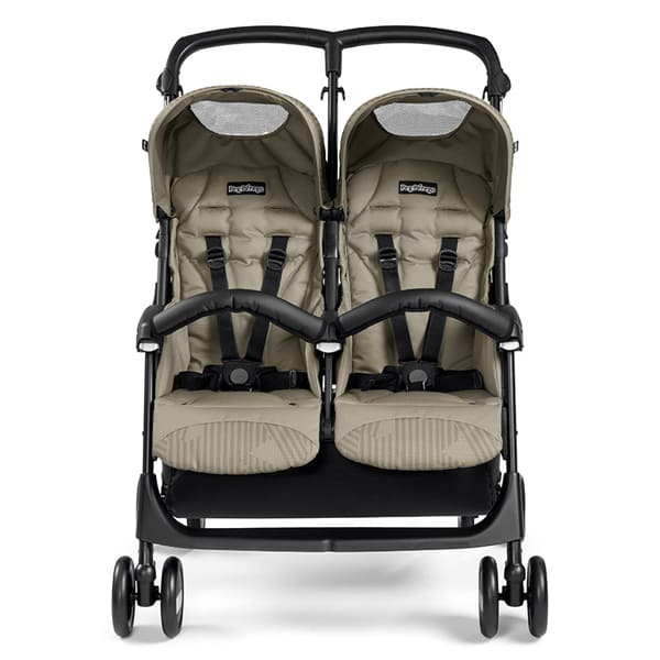 Bliźniaczy wózek spacerowy PEG PEREGO ARIA SHOPPER TWIN 4