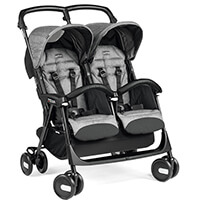 Bliźniaczy wózek spacerowy PEG PEREGO ARIA SHOPPER TWIN