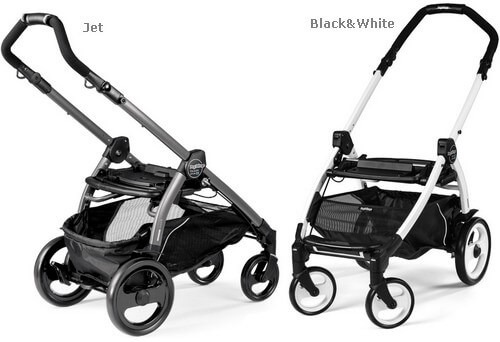 Wózek głęboko-spacerowy PEG PEREGO BOOK 51 POP-UP COMPLETO MODULAR + fotelik 2