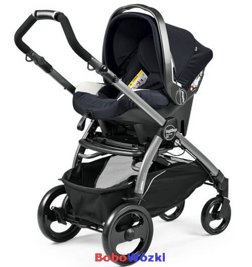 Wózek głęboko-spacerowy PEG PEREGO BOOK 51 POP-UP COMPLETO MODULAR + fotelik 4