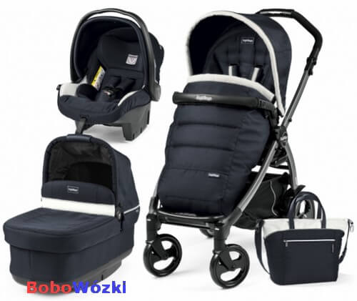 Wózek głęboko-spacerowy PEG PEREGO BOOK 51 POP-UP COMPLETO MODULAR + fotelik 1
